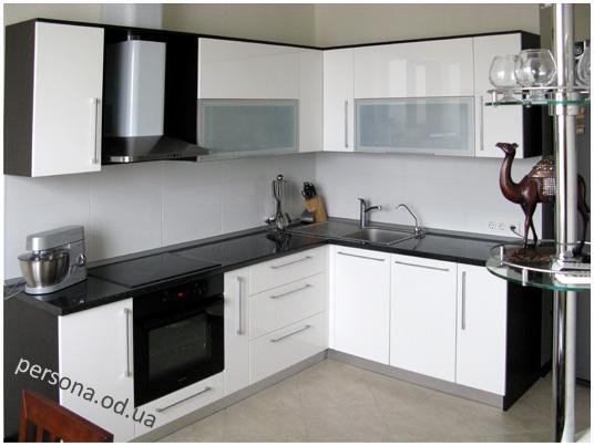 кухне белой ручки черные фото на