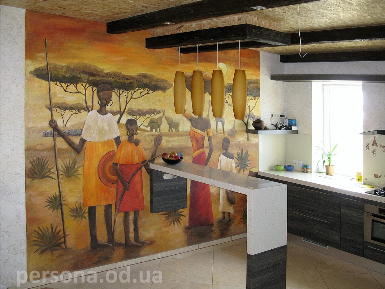 Кухня в африканском стиле своими руками 58